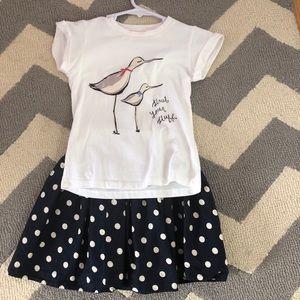 NEOT Kate Spade toddler set